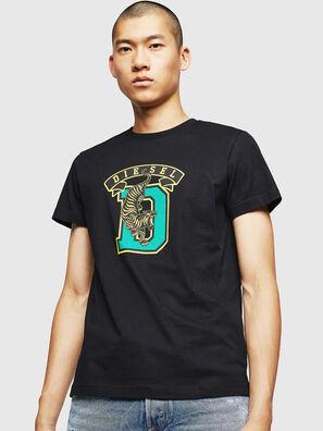 T-DIEGO-B4, Negro - Camisetas