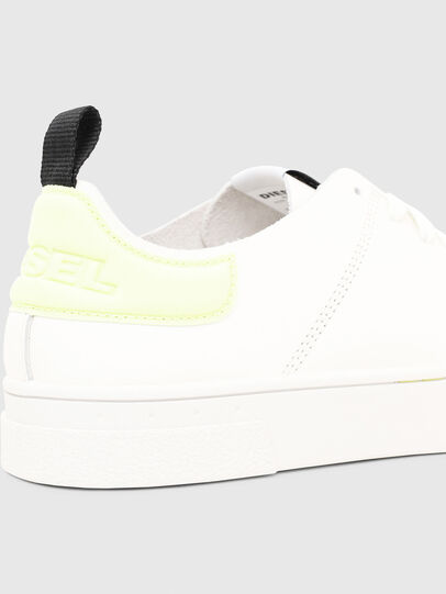 Diesel - S-CLEVER LS, Blanco/Amarillo - Sneakers - Image 4