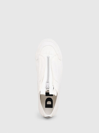 Diesel - S-ASTICO LOW ZIP SP, Blanco - Sneakers - Image 4