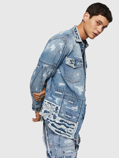 Diesel - D-HISAKY-SY, Blue Jeans - Camisas de Denim - Image 6