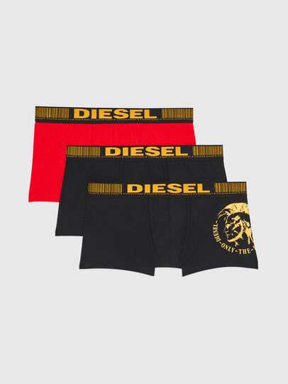 Diesel - UMBX-DAMIENTHREEPACK, Negro/Dorado - Boxers - Image 1