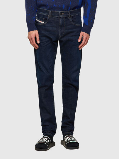 Diesel - D-Strukt JoggJeans® Z69VI, Azul Oscuro - Vaqueros - Image 1