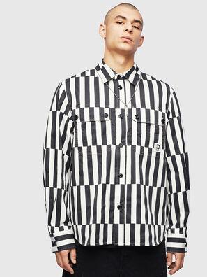 S-JESSY-B, Blanco/Negro - Camisas