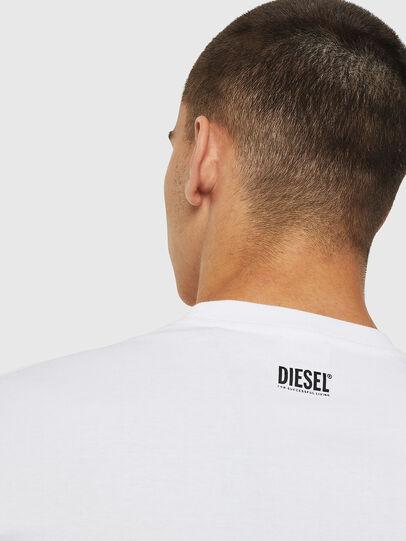 Diesel - T-DIEGO-B12, Blanco - Camisetas - Image 4