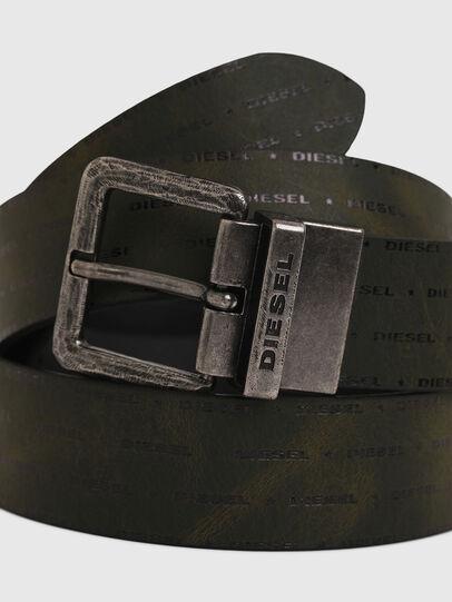 Diesel - B-DOUCKLE, Verde Oscuro - Cinturones - Image 2
