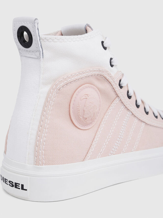 Diesel - S-ASTICO MID LACE W, Rosa/Blanco - Sneakers - Image 5
