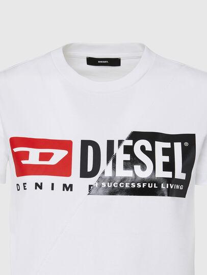 Diesel - T-SILY-CUTY, Blanco - Camisetas - Image 3