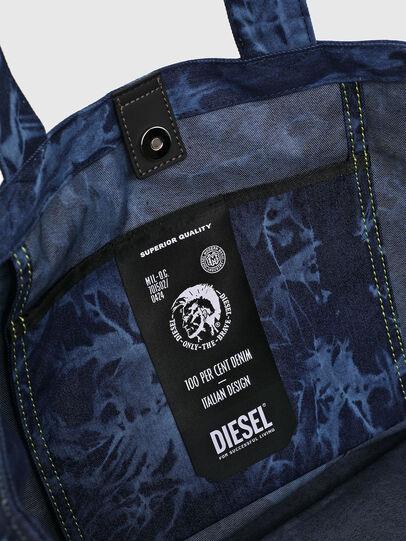 Diesel - D-THISBAG SHOP M, Azul - Bolsos Shopper y Al Hombro - Image 4