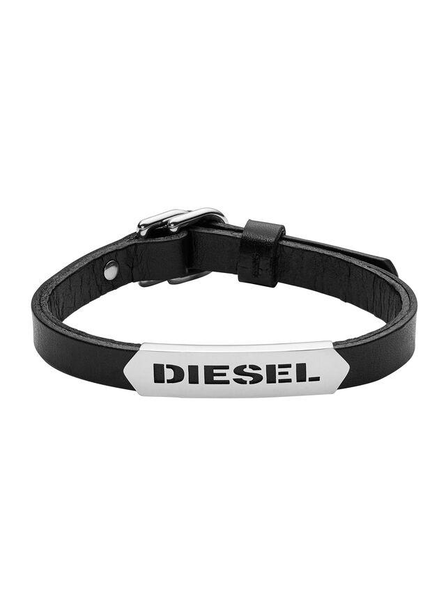 Diesel - BRACELET DX0999, Negro - Pulseras - Image 1
