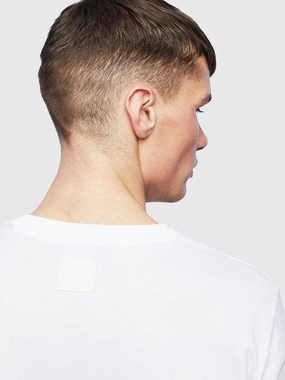 Diesel - T-HUSTY-LS, Blanco - Camisetas - Image 7