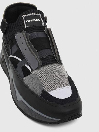 Diesel - S-BRENTHA DEC, Negro/Gris - Sneakers - Image 6