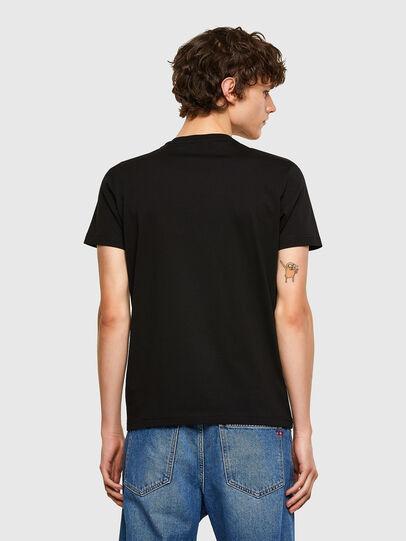 Diesel - T-DIEGOS-E32, Negro - Camisetas - Image 2