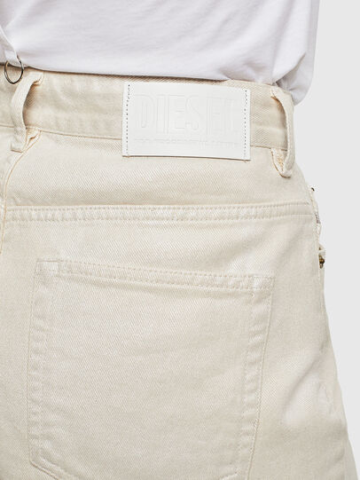 Diesel - DE-EISELLE, Blanco - Shorts - Image 3