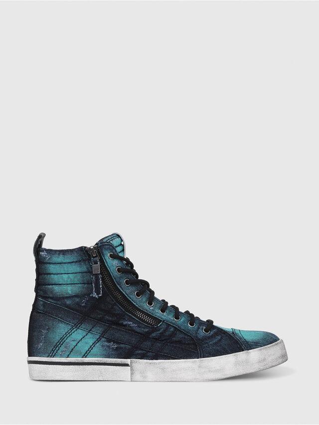 Diesel - D-VELOWS MID LACE, Azul Turquesa - Sneakers - Image 1