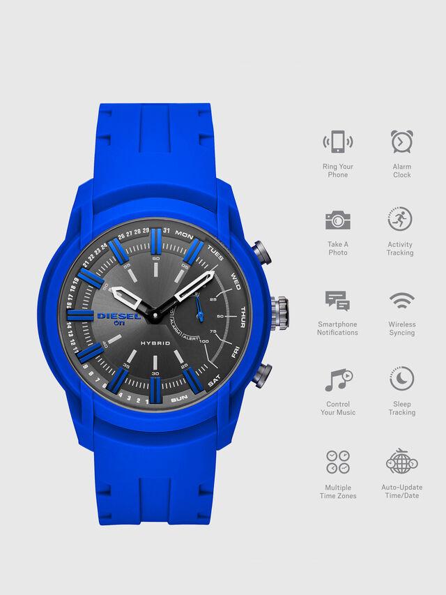 Diesel - DT1017, Azul Brillante - Smartwatches - Image 1