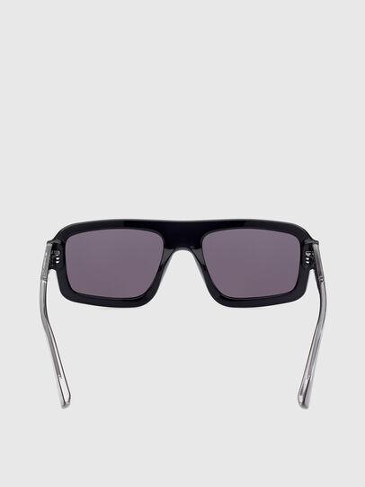 Diesel - DL0348, Negro - Gafas de sol - Image 4