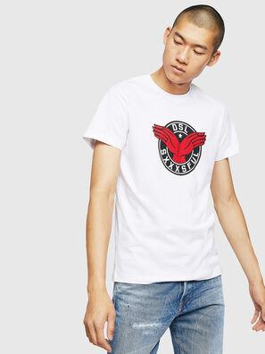T-DIEGO-B5, Blanco - Camisetas