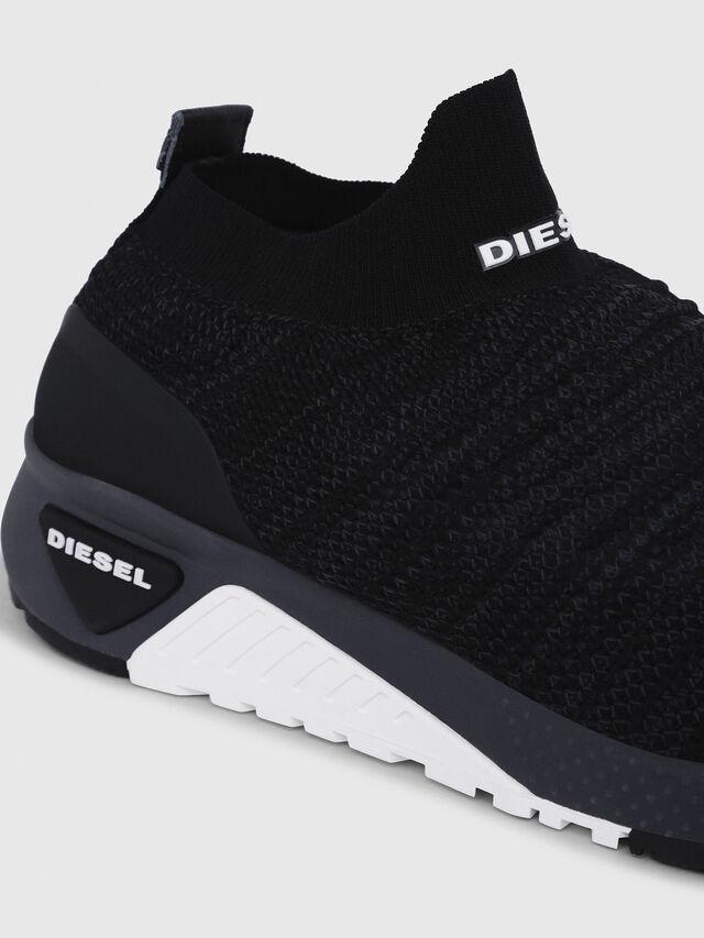 Diesel - S-KB ATHL SOCK, Negro - Sneakers - Image 4