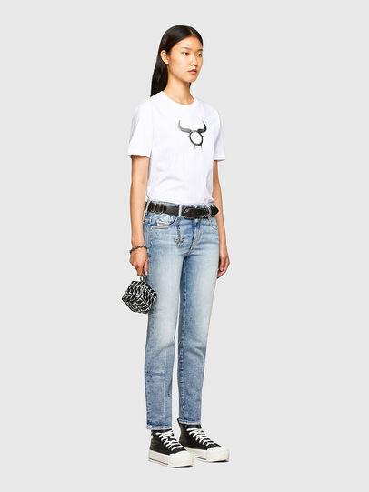 Diesel - CL-T-DIEGOS-O2, Blanco - Camisetas - Image 8