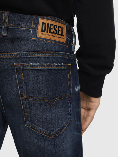 Diesel - THOSHORT, Azul Oscuro - Shorts - Image 5