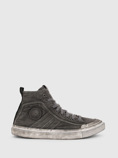 Diesel - S-ASTICO MID LACE, Gris oscuro - Sneakers - Image 1