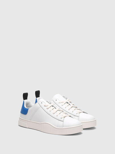 Diesel - S-CLEVER LOW LACE, Blanco/Azul marino - Sneakers - Image 2