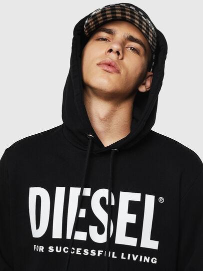 Diesel - S-GIR-HOOD-DIVISION-, Negro - Sudaderas - Image 3