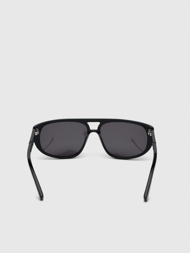 Diesel - DL0300, Negro - Gafas de sol - Image 4