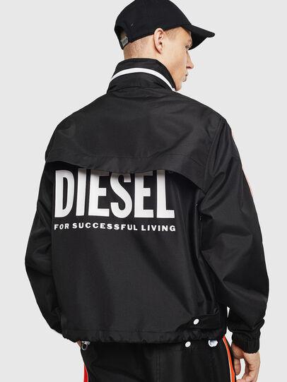 Diesel - J-BROCK, Negro - Chaquetas - Image 3
