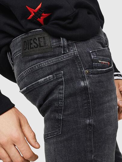 Diesel - Sleenker 084AT, Negro/Gris oscuro - Vaqueros - Image 5