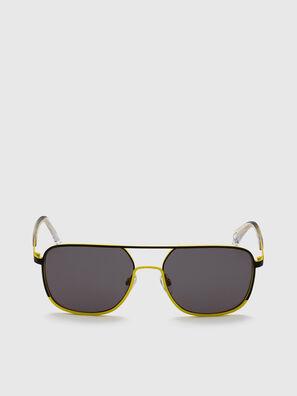 DL0325, Negro/Amarillo - Gafas de sol