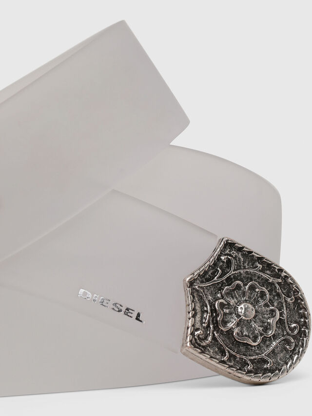 Diesel - B-TRITT, Blanco - Cinturones - Image 2