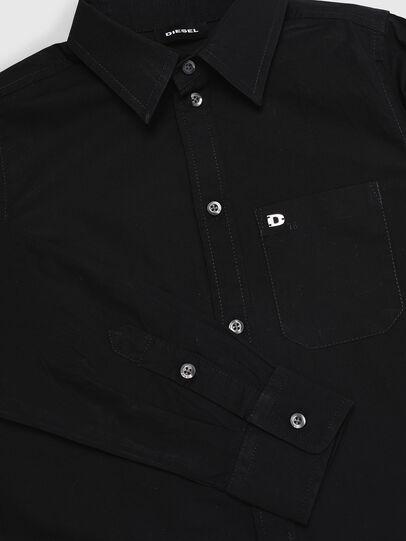 Diesel - CSMOI, Negro - Camisas - Image 3