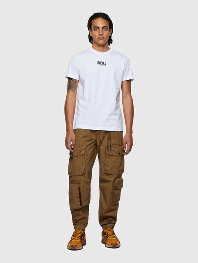 Diesel - T-DIEGOS-ECOSMALLOGO, Blanco - Camisetas - Image 4