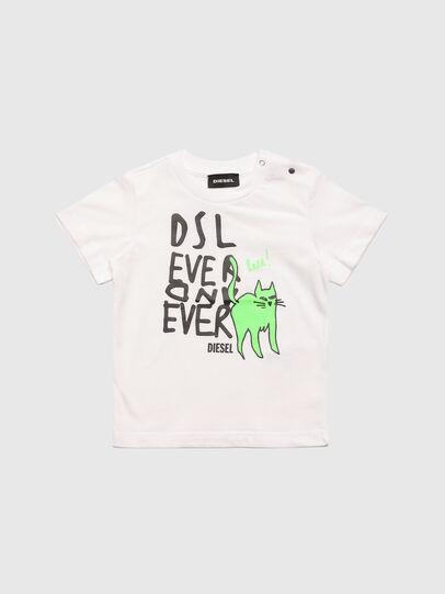 Diesel - TORTUB, Blanco - Camisetas y Tops - Image 1