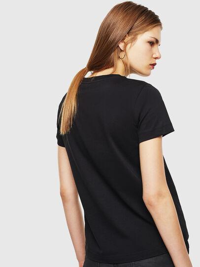 Diesel - T-SILY-COPY, Negro - Camisetas - Image 2