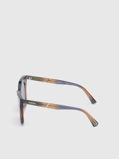 Diesel - DL0283, Azul/Amarillo - Gafas de sol - Image 3
