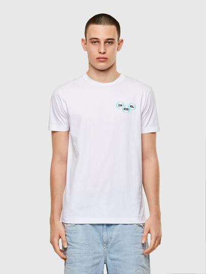 Diesel - T-DIEGOS-K41, Blanco - Camisetas - Image 1