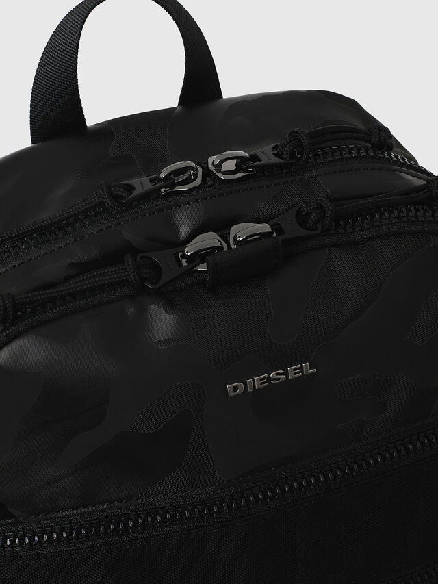 Diesel - F- URBHANITY BACK, Azul/Negro - Mochilas - Image 4
