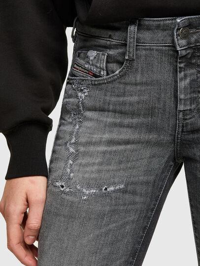 Diesel - D-Ollies JoggJeans® 009QT, Negro/Gris oscuro - Vaqueros - Image 3