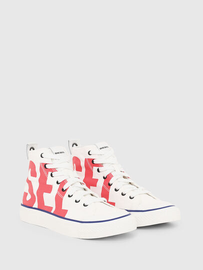 Diesel - S-ASTICO MC W, Blanco/Rojo - Sneakers - Image 2