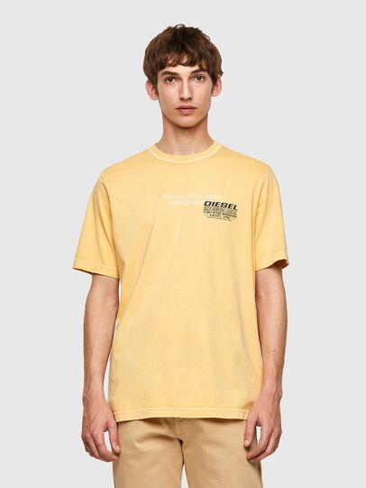 Diesel - T-JUBINDY-B1, Amarillo - Camisetas - Image 1