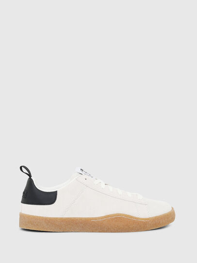 Diesel - S-CLEVER PAR LOW, Blanco/Negro - Sneakers - Image 1