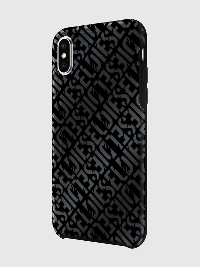 Diesel - DIESEL PRINTED CO-MOLD CASE FOR IPHONE XS & IPHONE X, Negro - Fundas - Image 5