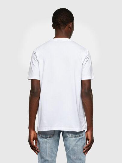 Diesel - T-JUST-LAB, Blanco - Camisetas - Image 2