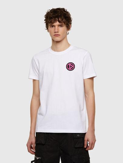 Diesel - T-DIEBIND-E1, Blanco - Camisetas - Image 1