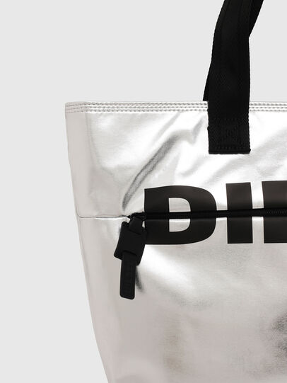 Diesel - F-BOLD SHOPPER II, Plata - Bolsos Shopper y Al Hombro - Image 4