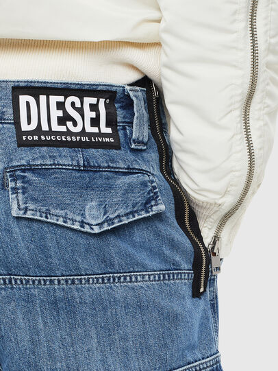 Diesel - D-Luks 009CL, Azul Claro - Vaqueros - Image 7