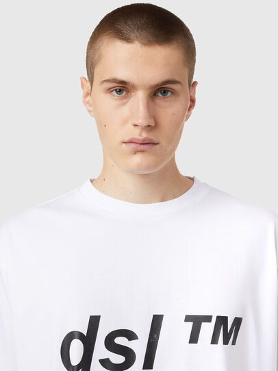 Diesel - T-BALM, Blanco - Camisetas - Image 3