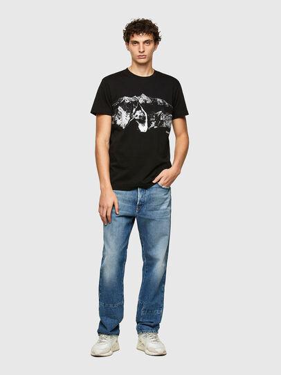 Diesel - T-DIEGOS-A7, Negro - Camisetas - Image 4